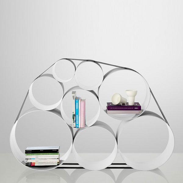 étagère bibliothèque design Muuto OTO100